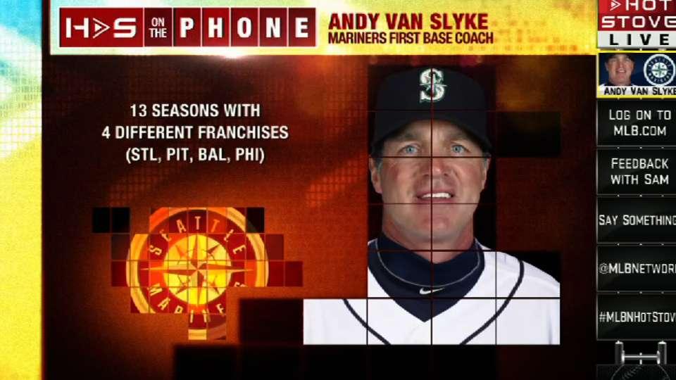Van Slyke joins Hot Stove