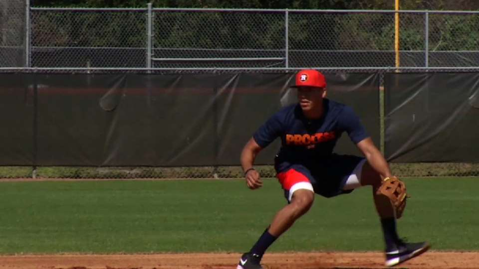 Correa on goals at Astros camp
