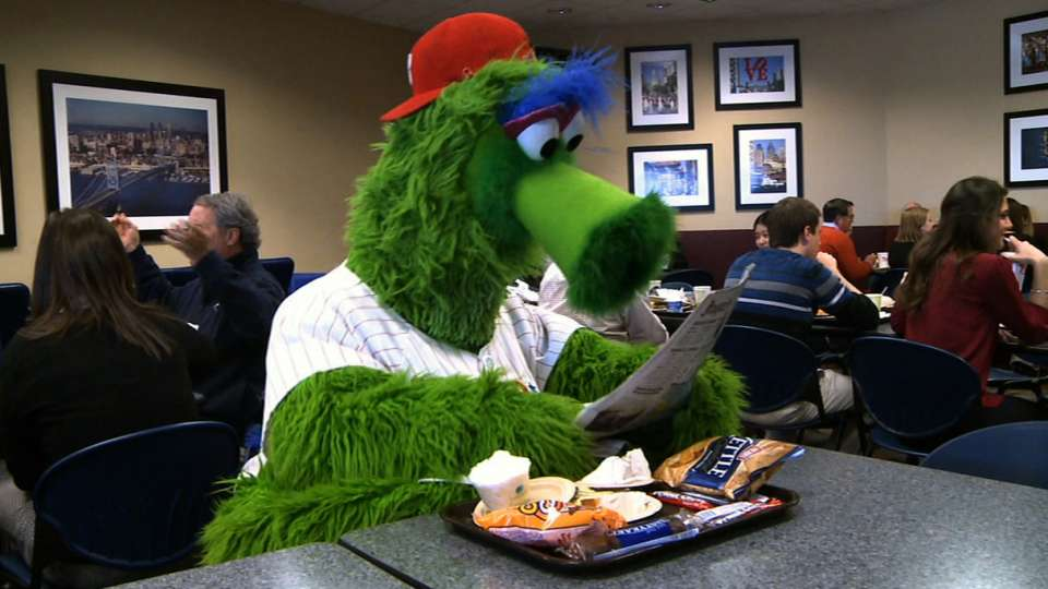 Phanatic gets ready for Spring