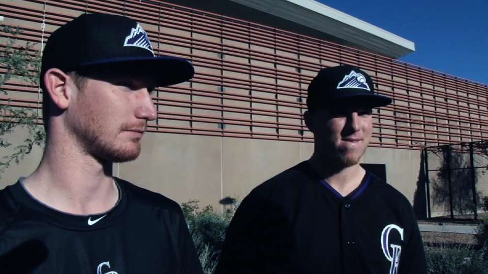 Butler and Gray on first camp