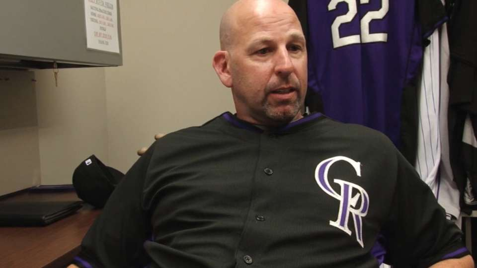 Weiss on Rockies opening camp