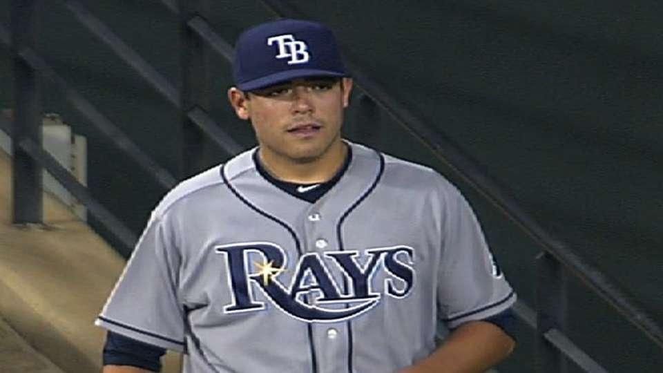 Moore's MLB debut
