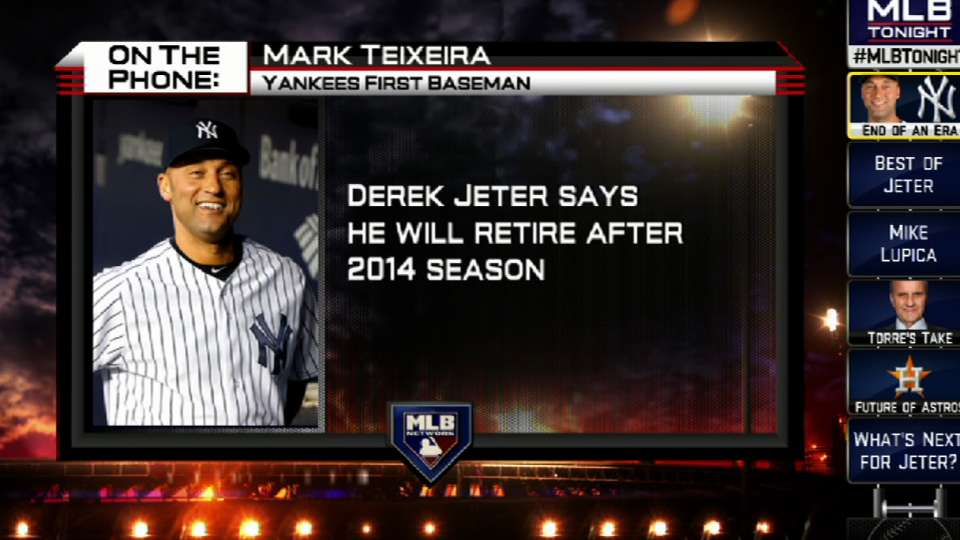 Teixeira weighs in on Jeter