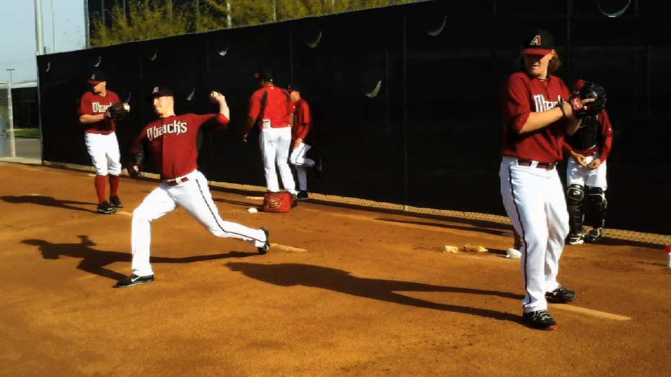 Towers on D-backs' camp