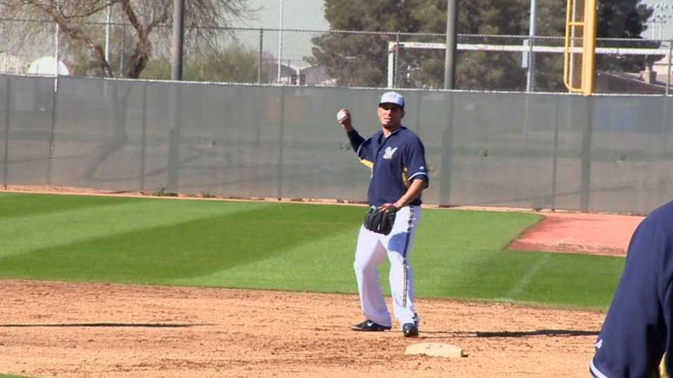 Melvin on key for Brewers