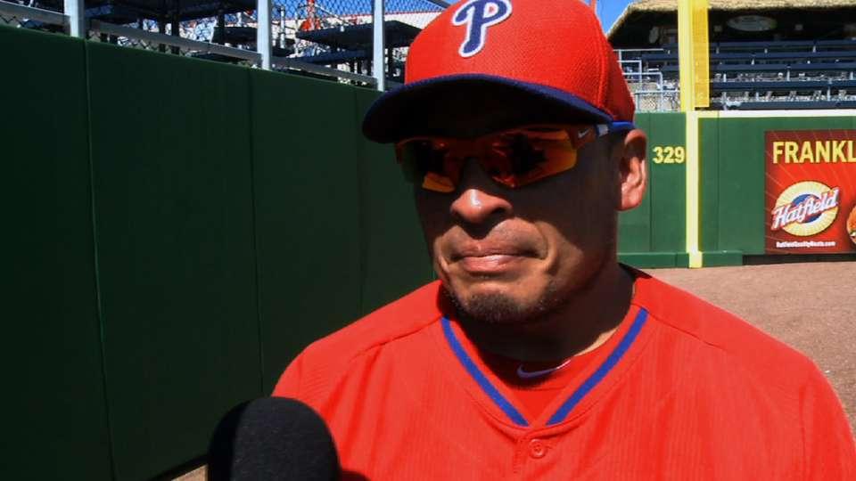 Carlos Ruiz on 2014 Phillies