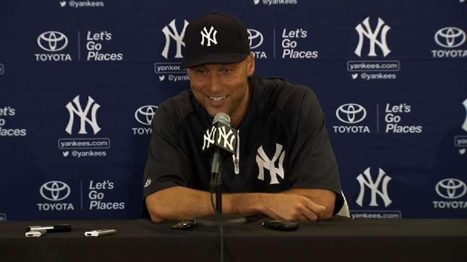 Jeter discusses his retirement