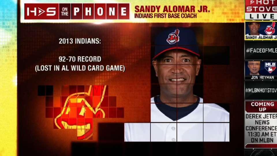 Sandy Alomar Jr. joins Hot Stove