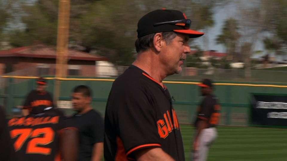 Bochy's update on Giants
