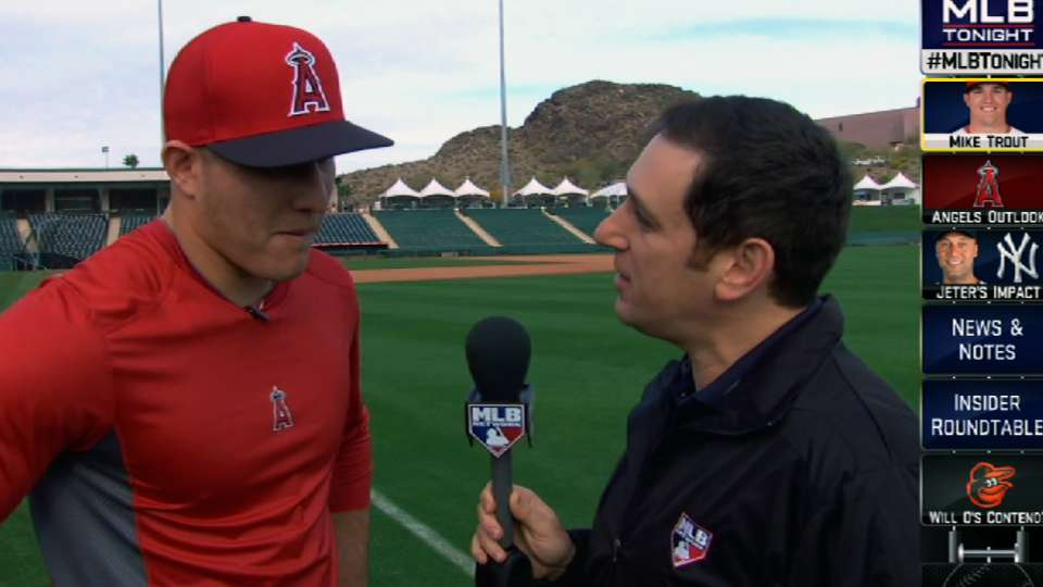 Mike Trout looks ahead to 2014