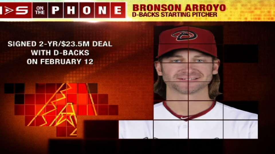 Bronson Arroyo joins Hot Stove