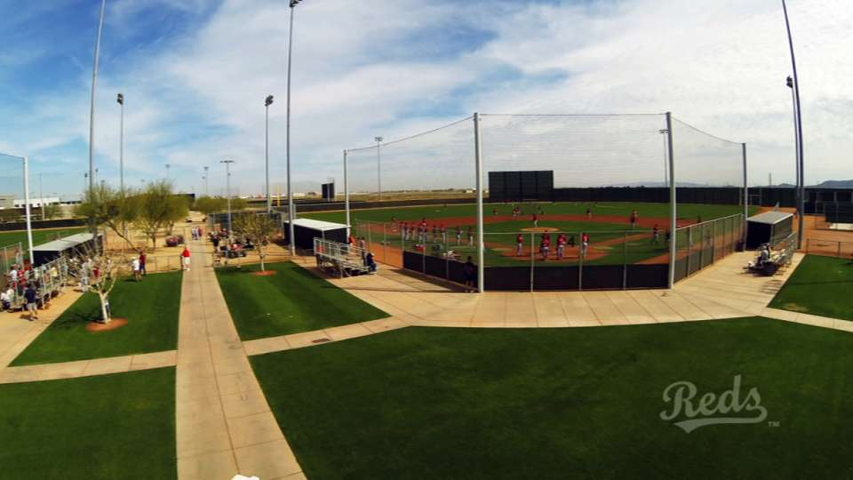 Reds kick off Spring Training
