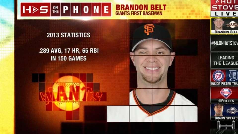 Brandon Belt on Hot Stove
