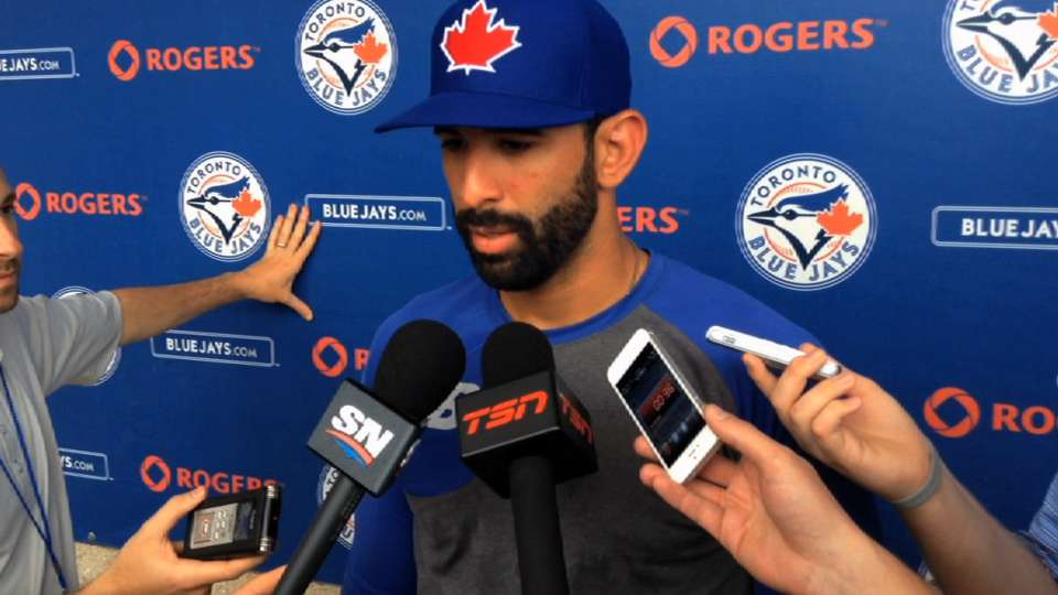 Bautista, Gibbons on his health