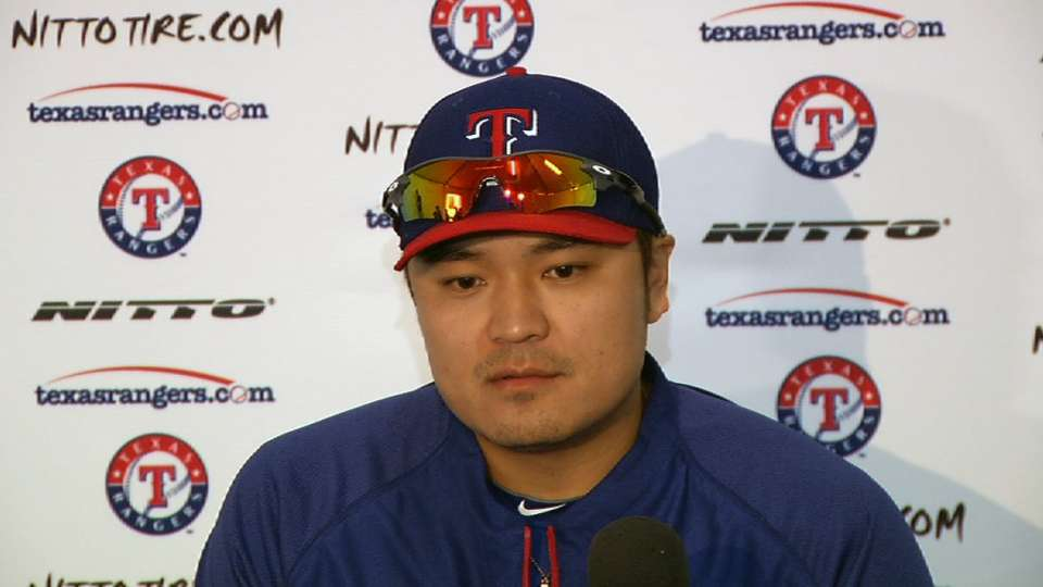 Choo ready for challenge