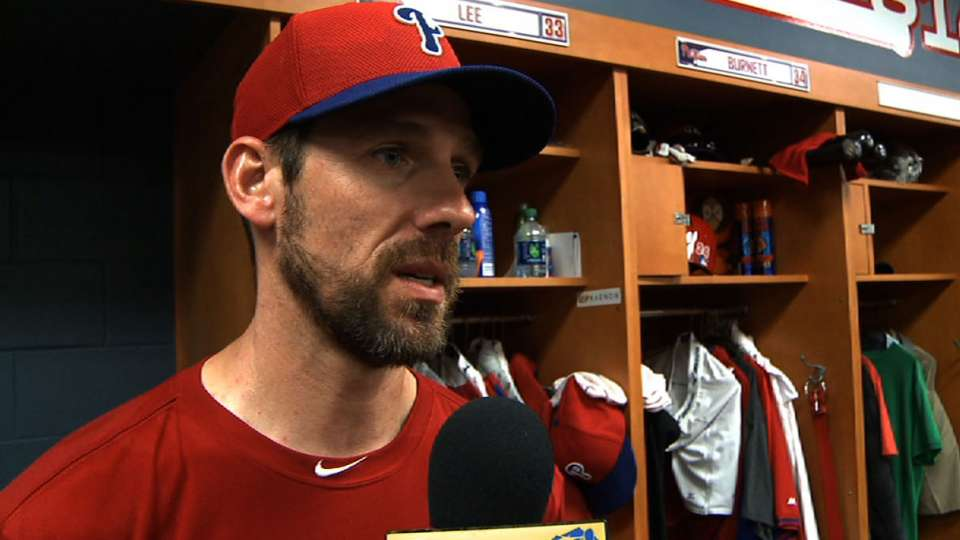 Lee on Phillies' expectations