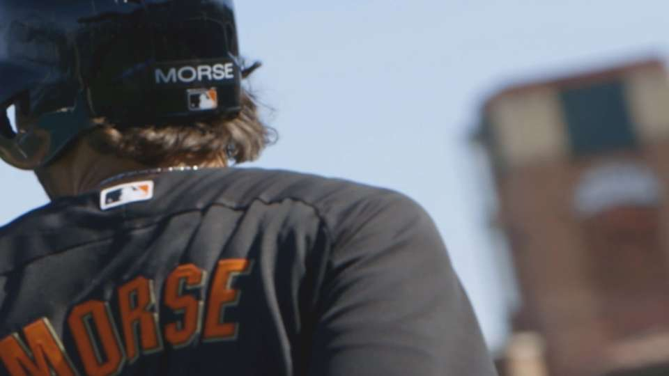 Morse excited to be a Giant