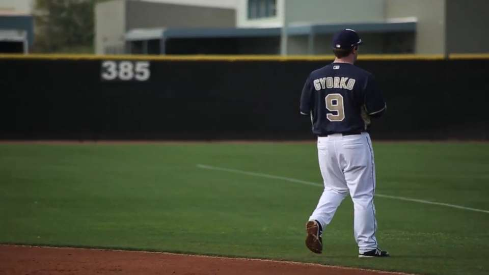 Gyorko on role at second base