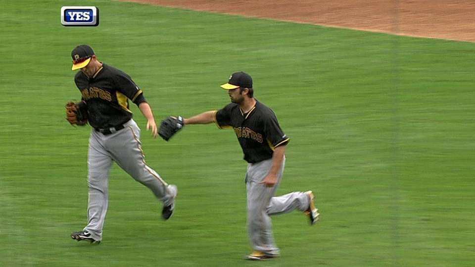 Pirates turn two to end inning