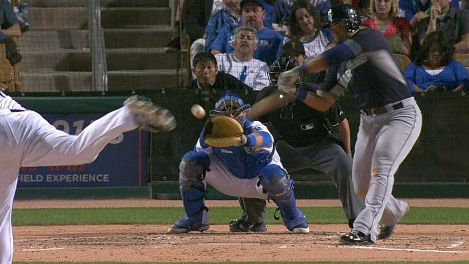 Montero's two-run homer