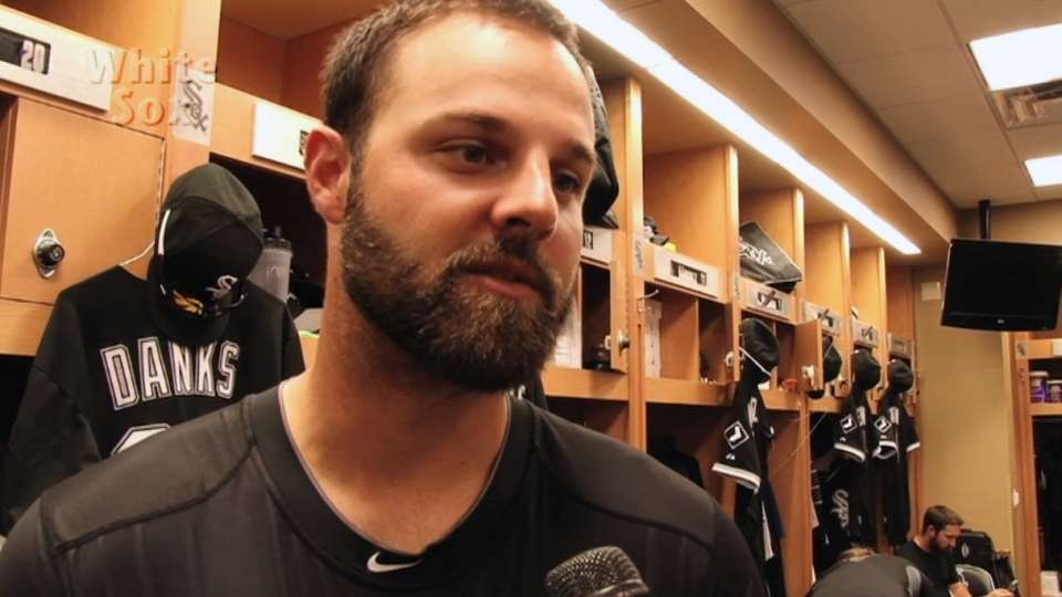 Danks on his opportunity to play