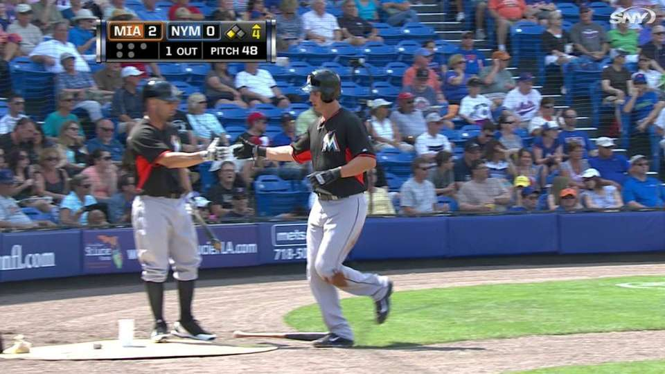 Marisnick drives in one