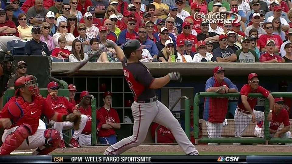 Uggla crushes a home run to left