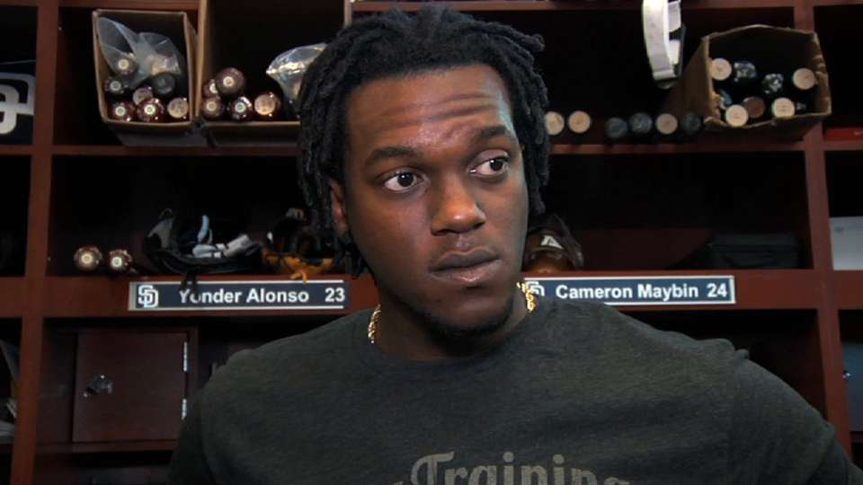 Maybin talks rehabbing injury