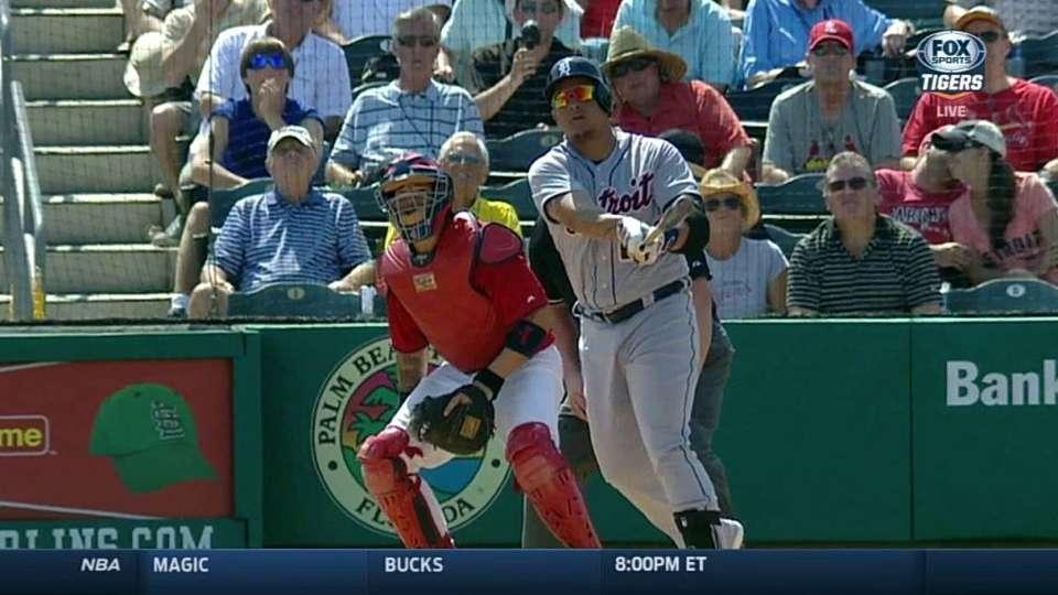 Cabrera's second homer