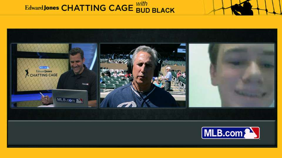 Chatting Cage: Black