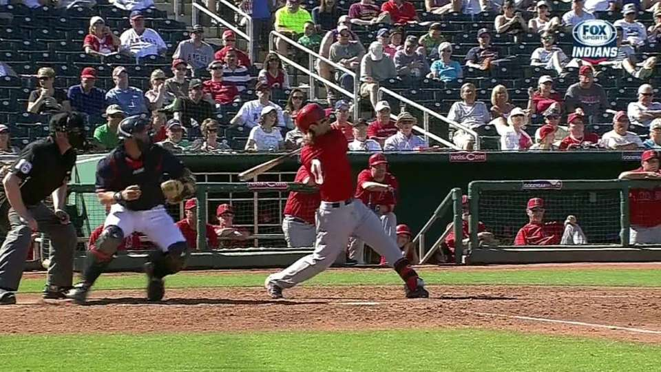Cowgill's two-run homer