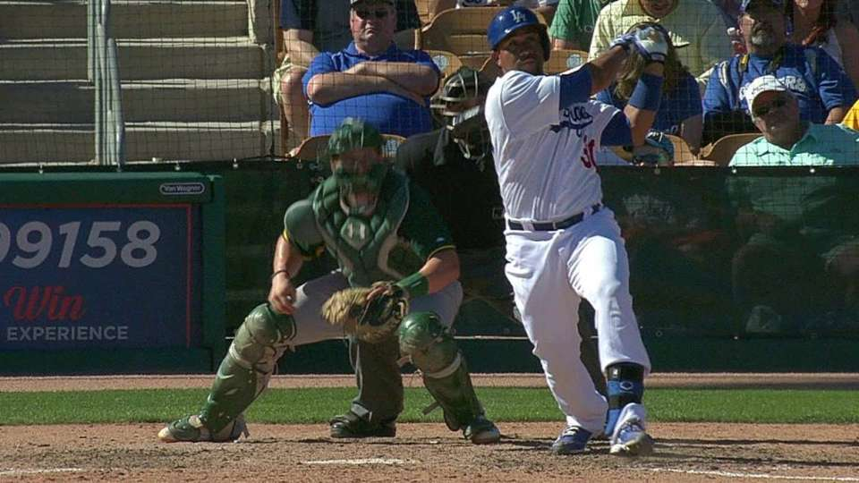 Olivo's bases-clearing double