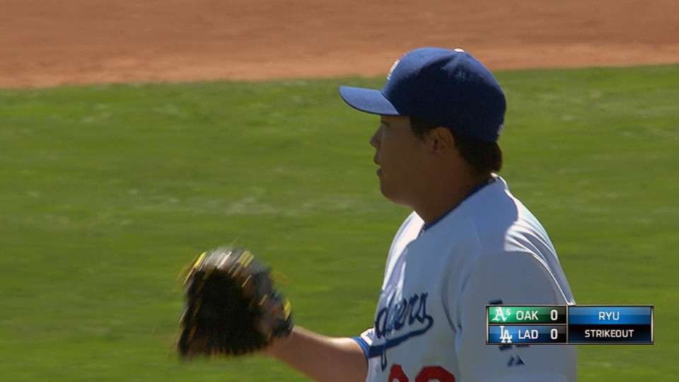 Ryu's great outing