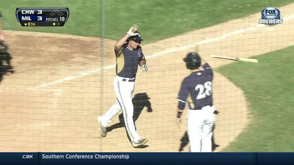 Weisenburger's two-run home run
