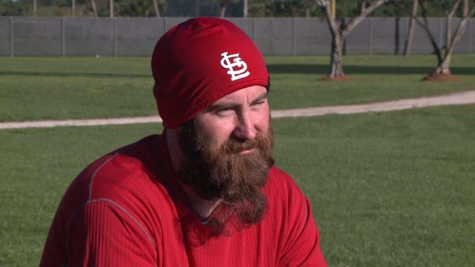 Meet Jason Motte's beard