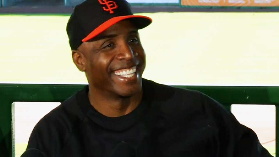 Bonds thankful to join camp