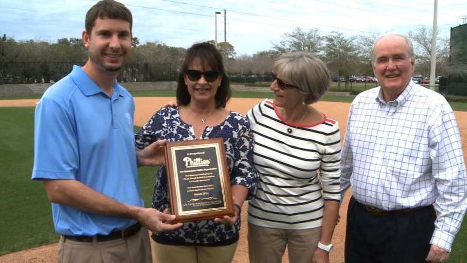 Local charity honors Phillies