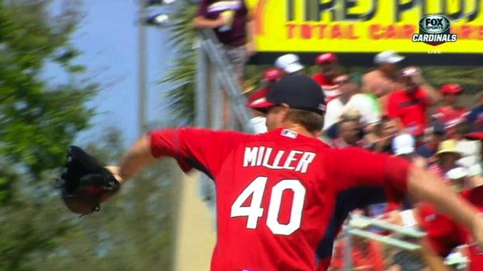 Miller on second spring start