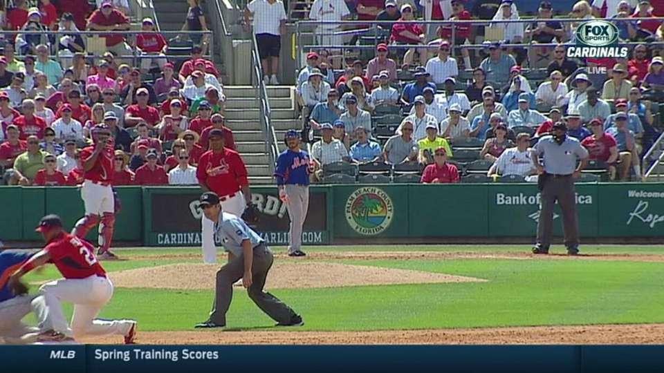 Perez shows quick, accurate arm
