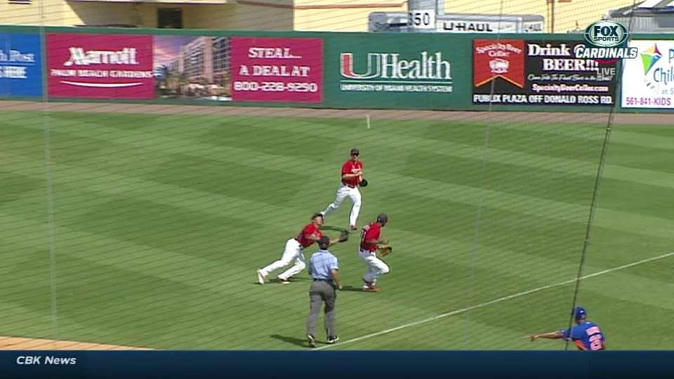 Wong makes diving catch