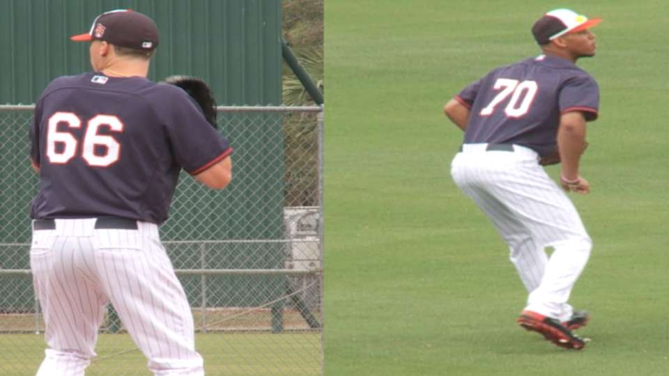 Buxton, Meyer on spring ball