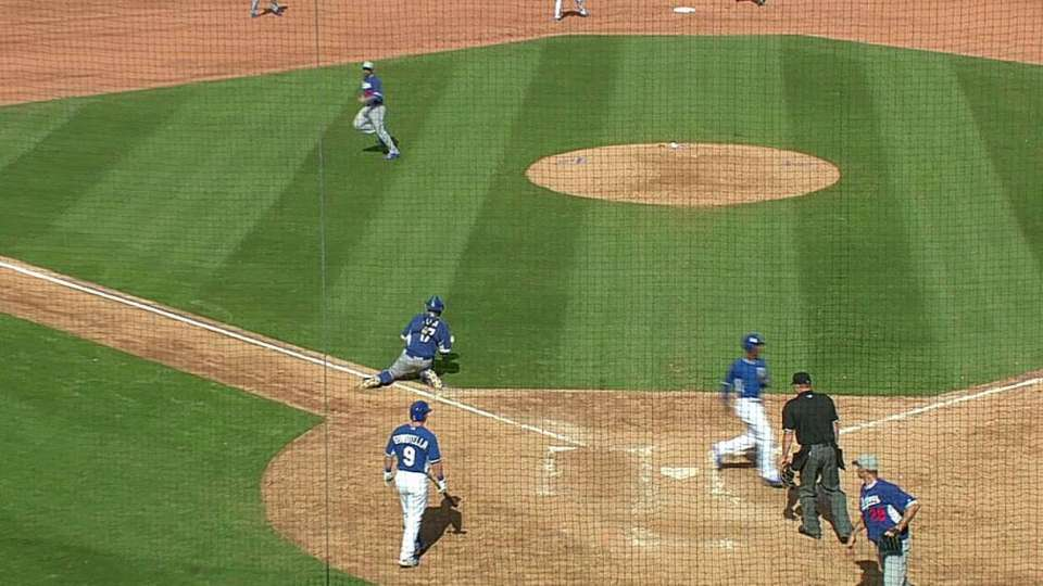 Peguero's two-run single