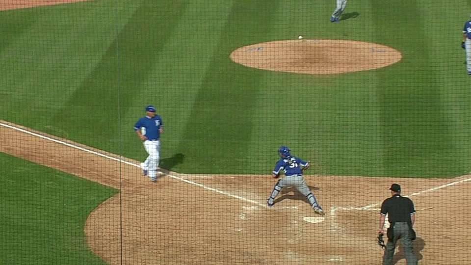 Guerrero gets out at home