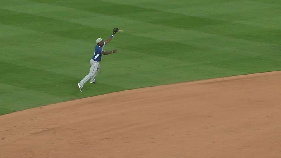 Sweeney makes the catch and toss