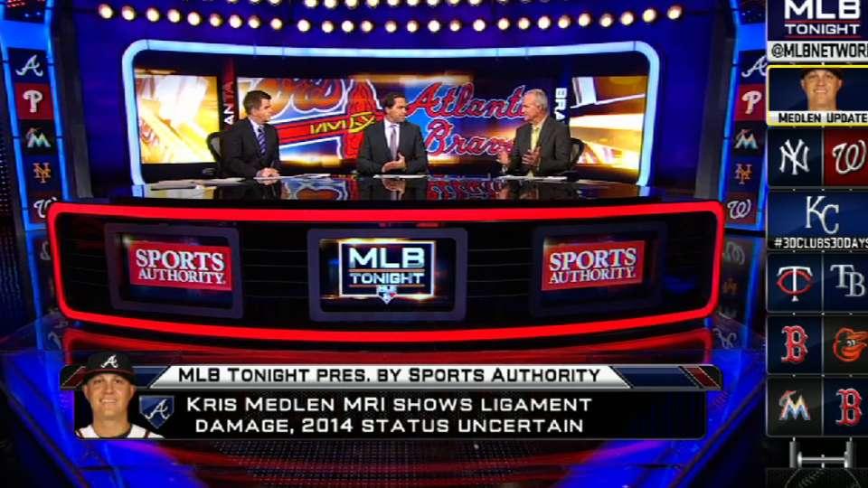 MLB Tonight on Medlen's injury