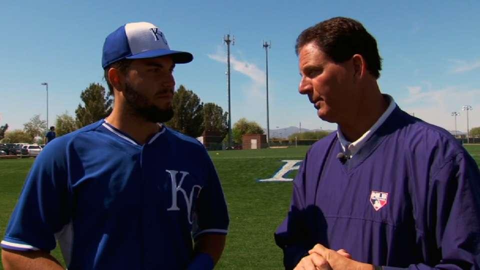Hosmer discusses the 2014 Royals