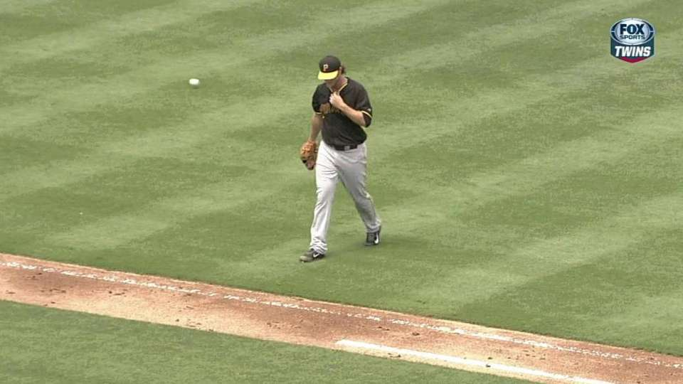 Cole strikes out Arcia