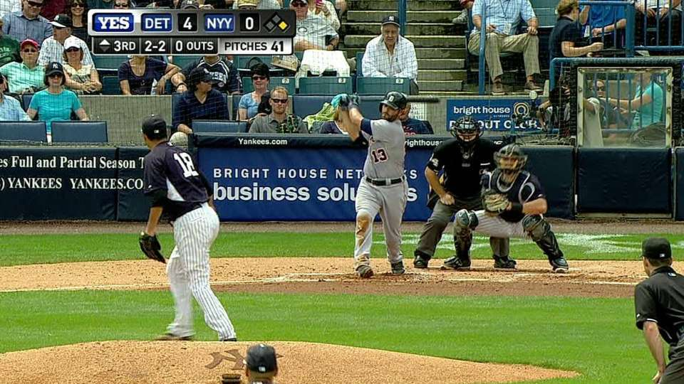 Kuroda strikes out Avila