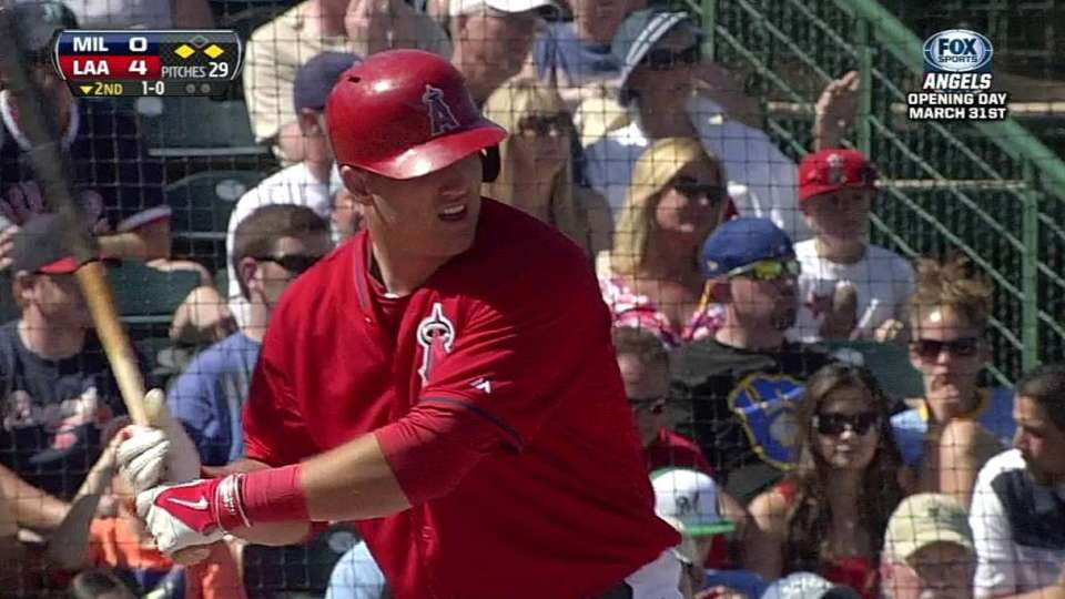 Trout's two-run single
