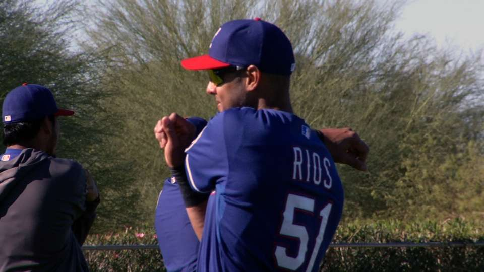 Rios looks to return soon
